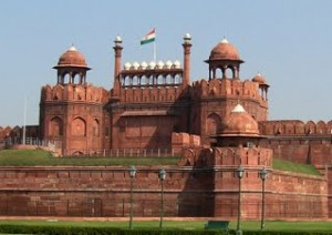 The Red Fort is a prominent fort in Delhi